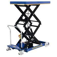 used electric lift table electric scissor lift table 800kg sc 800 d e mst uk