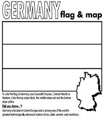 flag of germany coloring page coloring pages kids collection