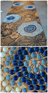 bottle cap table designs repurpose bottle cap decorating the refab diaries