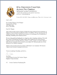 letter asking for donations writing professional letters