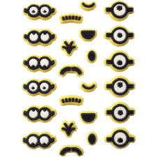 Edible Eyes Cake Decorating Wilton Minions Icing Decorations 24 Wilton
