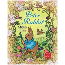 tale peter rabbit coloring book paperback beatrix potter