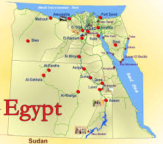 Sinai Peninsula On World Map by Www Mappi Net Maps Of Countries Egypt