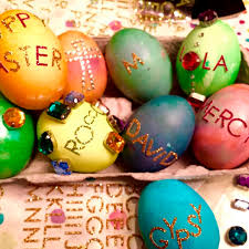 Decorating Easter Eggs Nz by The Best Celebrity Snaps This Easter Fashion Quarterly