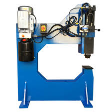 Bench Punch Press 110v 10 Ton Hydraulic Bench Press Punch Round Square Dies 25