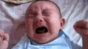 Screaming Baby Meme - cry baby gif find share on giphy