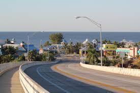 matanzas pass bridge leading onto north end of fort myers beach