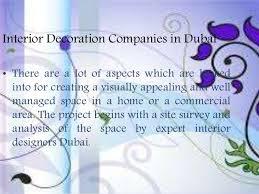 Home Interior Design Companies In Dubai by Interior Decoration Companies In Dubai