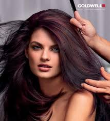coke blowout hairstyle cherry cola hair color great for fall this reminds me of you