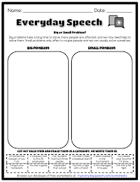 big or small problem everyday speech everyday speech