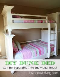 Find Bunk Beds Diy Flat Panel Bunk Bed Can Be Separated Into
