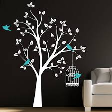 aura of nature with tree wall stickers in decors