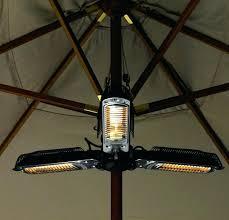 Fire Sense Halogen Patio Heater by Halogen Patio Heater B Fire Sense 1500 Watt Black Umbrella Mounted