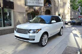 white and gold range rover 2013 land rover range rover supercharged stock 22463 for sale