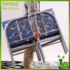 Folding Bed Sheets Good Price And Best Quality Sinlgle Folding Bed With Bed Sheets A