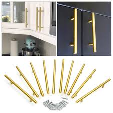 black t bar kitchen cupboard handles 30 gold 128mm t bar handles kitchen cabinet cupboard drawer