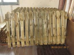 ringhiera in legno per giardino recinzioni in legno marsala trapani