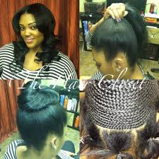 sew in ponytail hairstyles 1000 images about weaves on pinterest