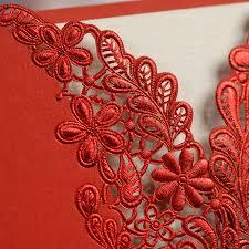 Wedding Invitation Cards Online Order Aliexpress Com Buy Red Color Wedding Invitation Card Laser Cut