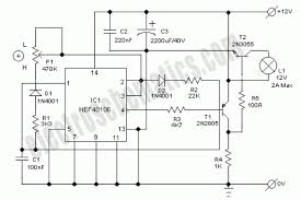 car interior light dimmer circuit