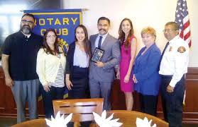 malibu rotary club awards 3 300 scholarship to firefighter news