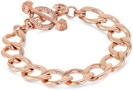 rose gold bracelet charm images Charm central premium rose gold tone baby feet charm for charm jpg