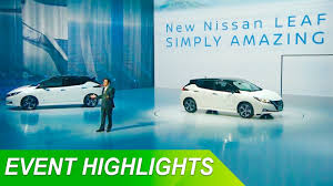 nissan leaf apple carplay nissan leaf 2018 presentation in 7 minutes youtube