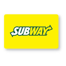 5 gift card free 5 subway gift card earbuds or 1 0f 5 magazine subscriptions