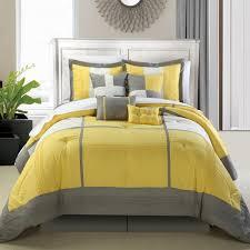 Yellow King Size Comforter Nursery Beddings Yellow And Grey Chevron Comforter Set Also