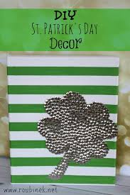 11 diy st patrick u0027s day decorations for your home