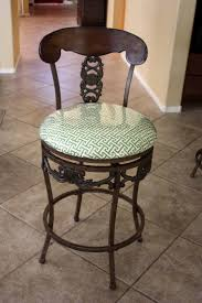 bar stool stool covers acrylic bar stools round chair pads
