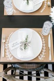brown paper tablecloth for the holidays paper table brown paper