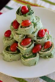 christmas tree pita pinwheel appetizer spinach tortillas and