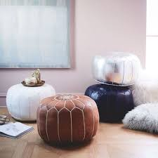 Ottoman Morocco Moroccan Pouf Small West Elm