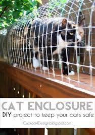How To Keep Cats Out Of Your Backyard Diy Cat Enclosure Diy Cozy Home