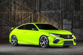 honda civic coupe 2017 2018 honda civic type r prototype unveiled