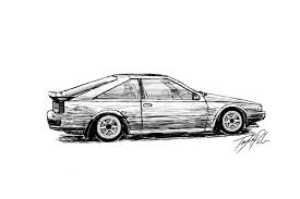 nissan silvia drawing s12 nissan 200sx by taytayisawesome on deviantart