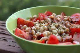 cuisiner les haricots coco salade de petits haricots coco tomates et sauce sakari défi