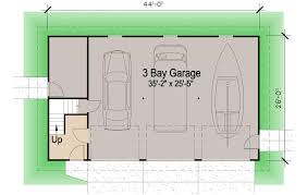 Rv Garage With Apartment Shingle Garage With Loft 1728 Sf Southern Cottages