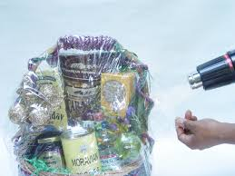 where to buy plastic wrap for gift baskets shrink wrapping for beginners gift basket business