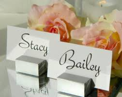 Buffet Sign Holders by Silver Place Card Etsy