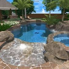 Backyard Designs With Pool Best 25 Tropical Pool Ideas On Pinterest Beautiful Pools Dream