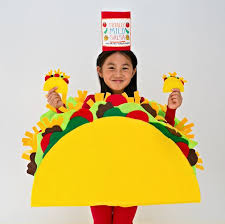 Cat Halloween Costumes Kids 25 Taco Costume Ideas Food Costumes Diy