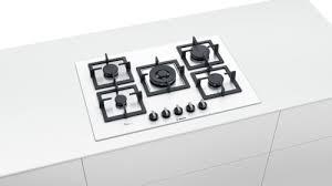 bosch piani cottura bosch piano cottura 5 fuochi a gas da incasso 1 bruciatore wok