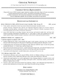 Human Services Resume Samples by Customer Service Representative Resume Sample Berathen Com