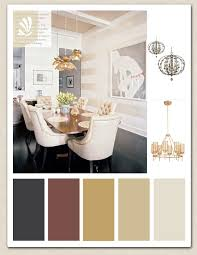 gold cream cranberry and espresso color palette for your dining