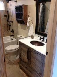 country rustic bathroom ideas i want a small rustic cabin with this as the 1 2