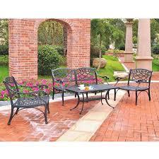 buy crosley furniture sedona 4 piece cast aluminum outdoor