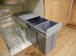 kitchen cabinet waste bins new 40l pull out kitchen waste bin under sink cabinet recycling