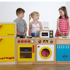 Toy Kitchen Set Wooden Buy Role Play Wooden Kitchen Set Tts